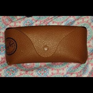 Brown Ray Ban Sunglasses Case